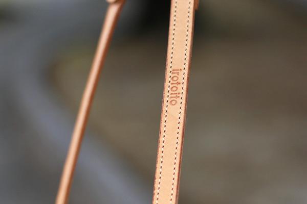 画像4: イタリアンレザーのリード(ヌメ)